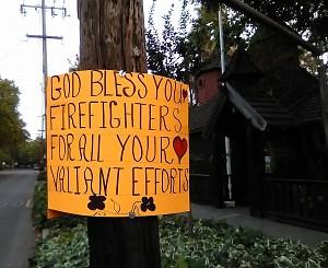 A grateful community